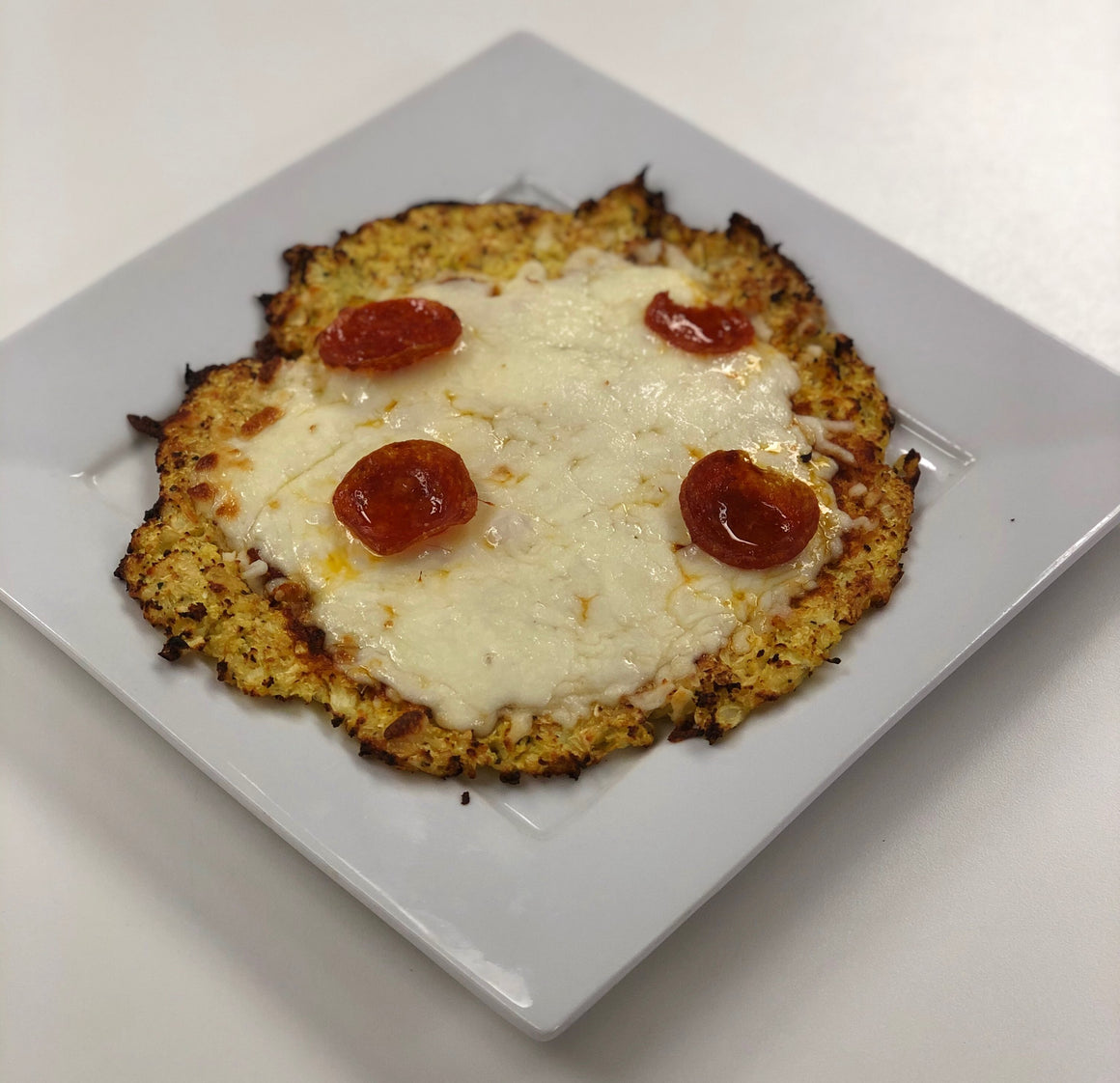 Keto Cauliflower Crust Pizza with Pepperoni - Hobby Hill Farm