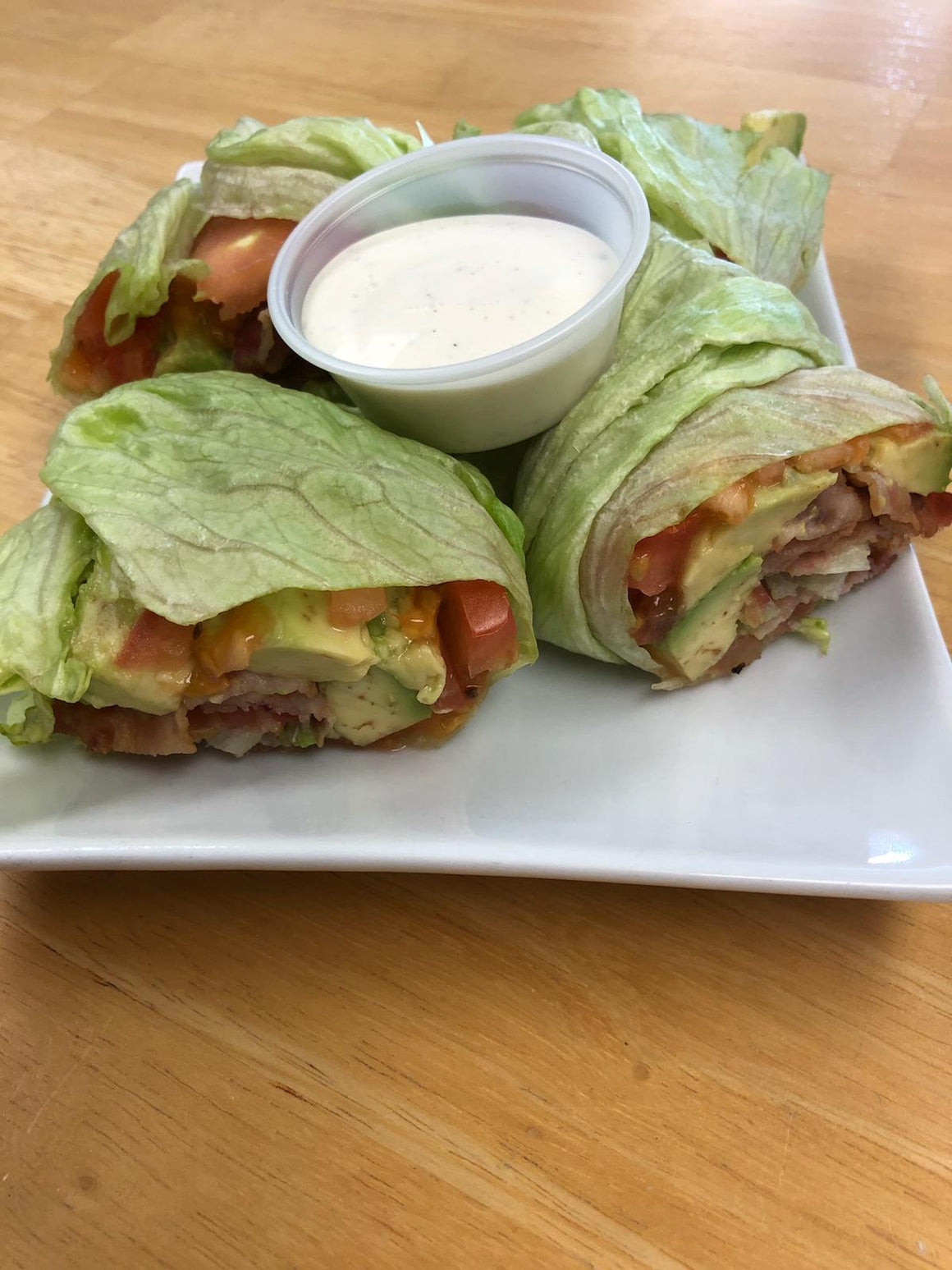 Bacon Avocado Lettuce Wraps - Hobby Hill Farm