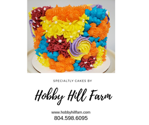 Raspberry Cake & Raspberry Buttercream - Hobby Hill Farm