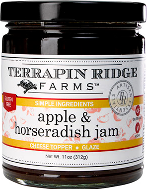 Apple and Horseradish Jam - Hobby Hill Farm