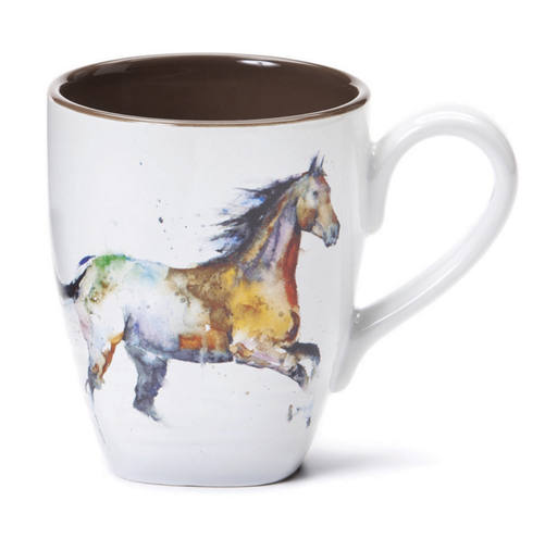 Running Horse Mug - Hobby Hill Farm