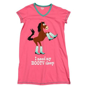 I need my Booty Sleep V-Neck Nightshirt - Hobby Hill Farm