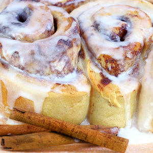 Cinn-sational Cinnamon and Bourbon Buns