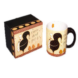 Come and Get it! Rooster Coffee Mug - Hobby Hill Farm