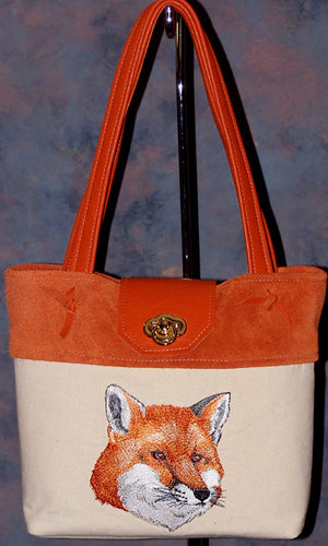 Fox Head Purse - Hobby Hill Farm