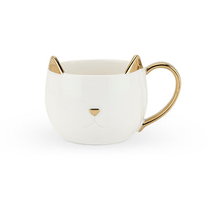 Chloe Feline Good White Cat Mug - Hobby Hill Farm