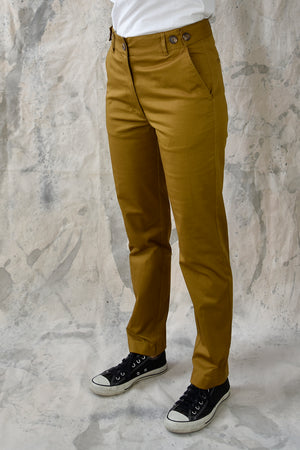 Pant Slim Twill Must Re-