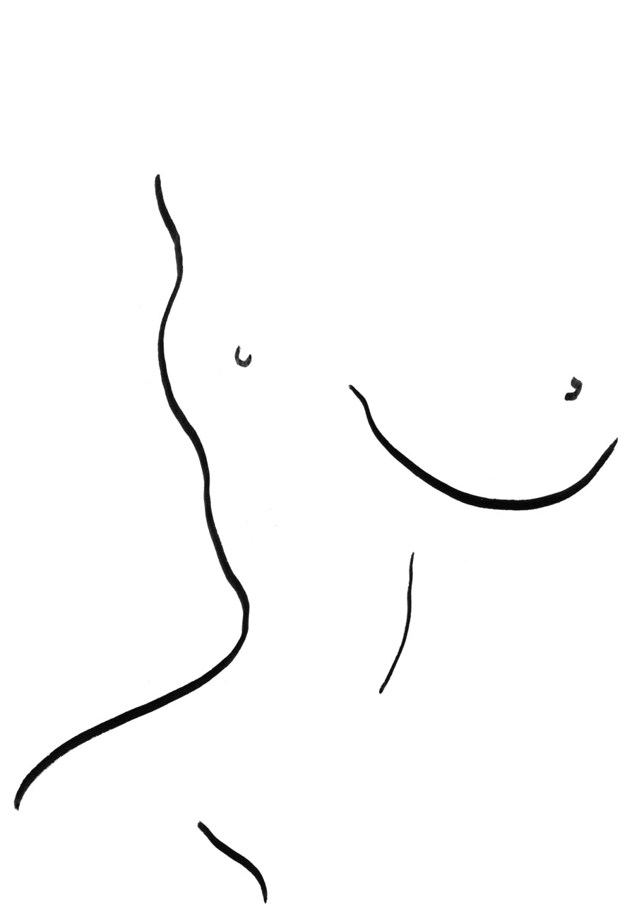 Fragmented Nude