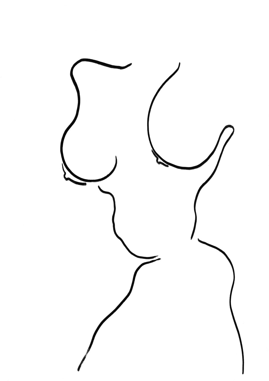 Fragmented Nude 3