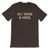 Brown Go Take a Hike (On Misery Ridge) Men's T-shirt