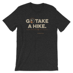 Dark Grey Heather Go Take a Hike (On Misery Ridge) Men's T-shirt