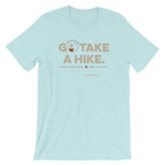 Heather Ice Prism Blue Go Take a Hike (On Misery Ridge) Men's T-shirt