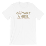 White Go Take a Hike (On Misery Ridge) Men's T-shirt