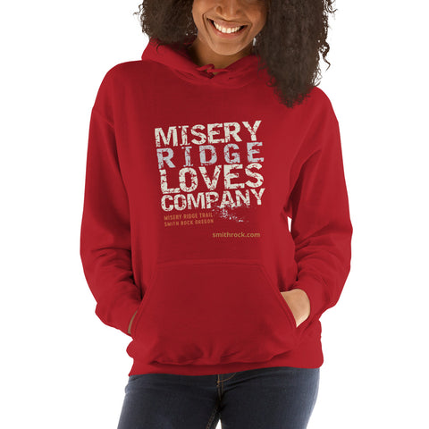 Red Misery Ridge Loves Company Unisex Hoodie