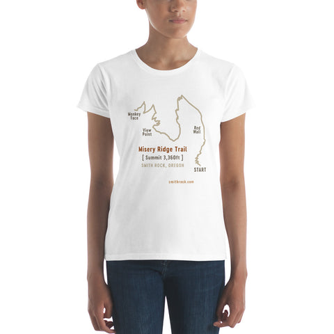 Misery Ridge Trail Women's T-Shirt