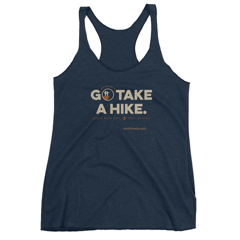 Go Take a Hike (On Misery Ridge) Women's Racerback Tank Top