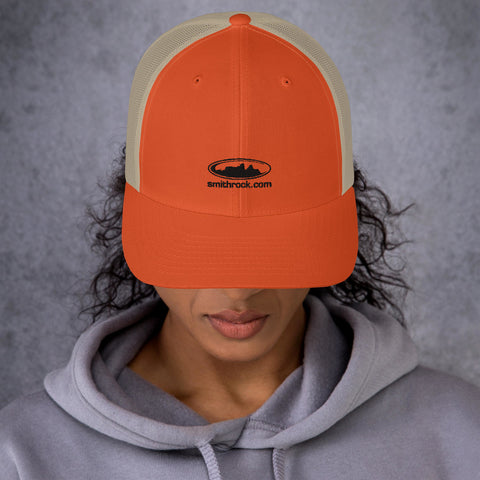 SmithRock.com Unisex Trucker Hat