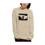 Monkey Face Window Graphic Novel Unisex Long Sleeve T-Shirt