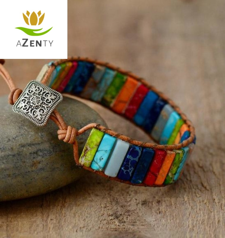 Bracelet d'Optimisme et de Protection - Harmonisation des 7 chakras