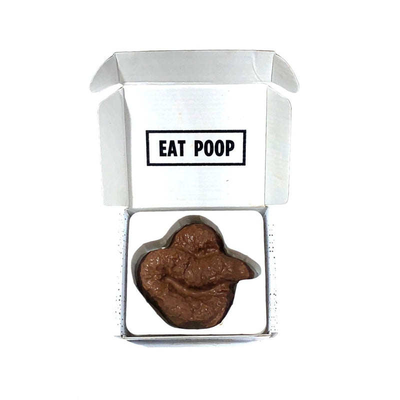 Eat Poop: Chocolate Turd in a Box