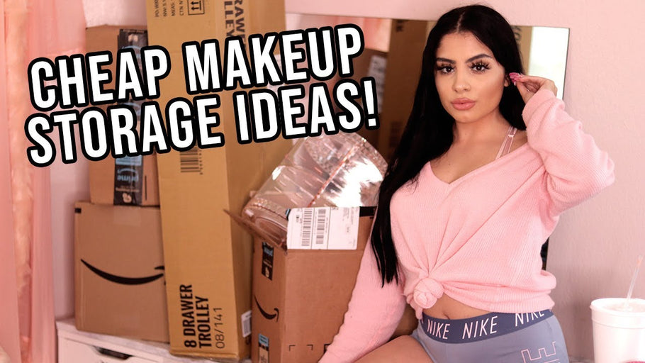 AMAZON MAKEUP STORAGE HAUL & UNBOXING | ep 2 Beauty Room Series by Thania Gonzalez (2 years ago)