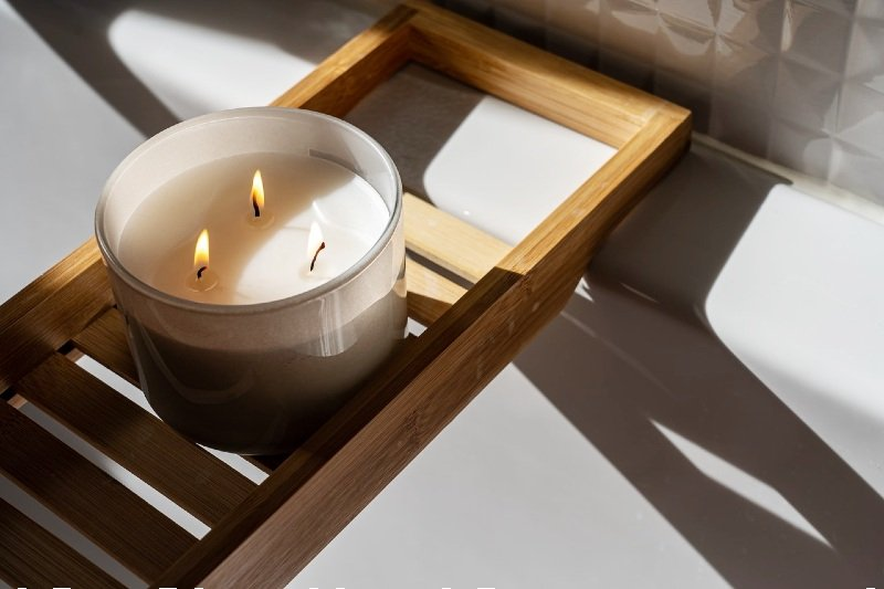 Easy DIY Scented Candles For Your Cozy Vanity Corner