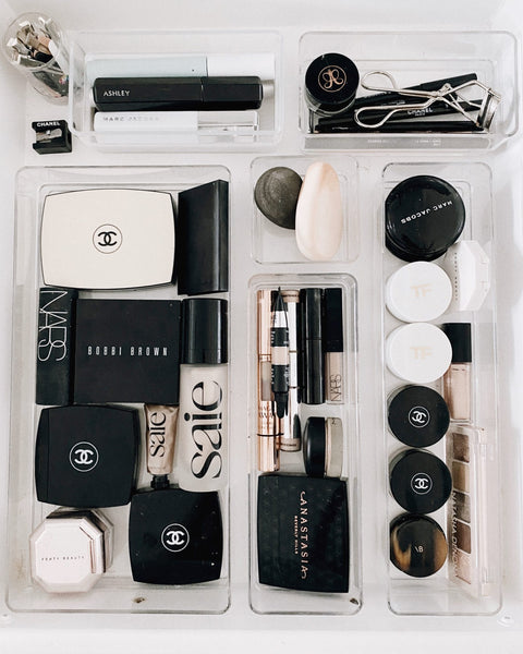 How I Organized My Makeup and Skincare Drawer