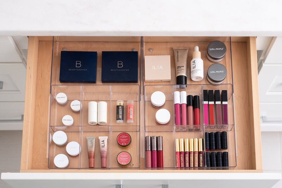 Bathroom Organization Inspired by Get Organized with The Home Edit