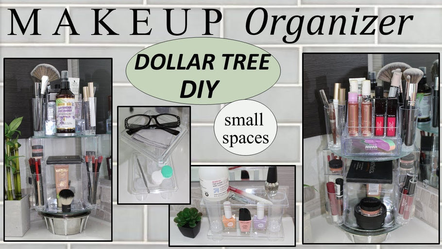 makeupstorageideas #dollartreediy #smallbathroomideas #dollartree #bathroom decor Hi Everyone!! We are excited to share this MAKEUP STORAGE IDEAS ...