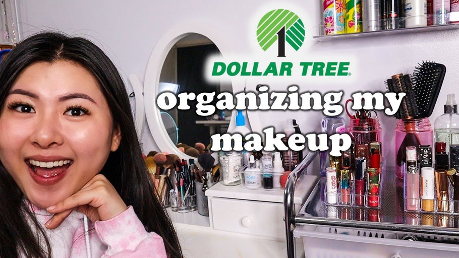 i organized my makeup using DOLLAR TREE organizers (this took 5 hours) by Angie Wang (1 year ago)