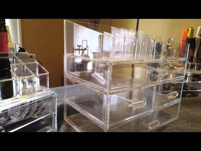 Large Acrylic Makeup Organizer Review by Open Box Reviews (5 years ago)