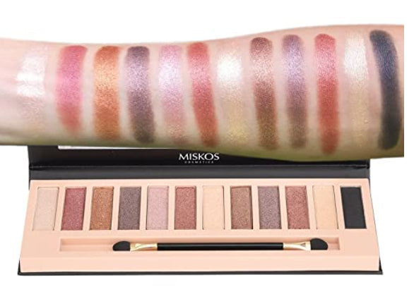 Nude Shimmer Eyeshadow Palette