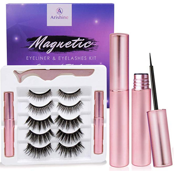 Magnetic Eyeliner and Eyelashes Set
