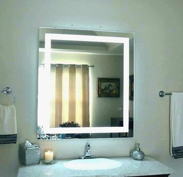 Perfect Concept Big Vanity Mirror With Lights