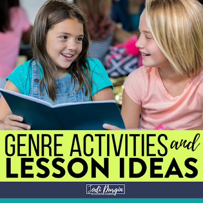 GENRE ACTIVITIES and LESSON IDEAS