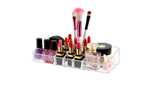Crystal-clear design Transparent Cosmetic Organizer