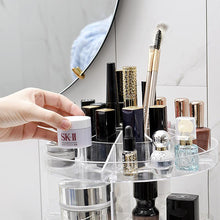 Load image into Gallery viewer, 360 Rotating Adjustable Makeup Organizer