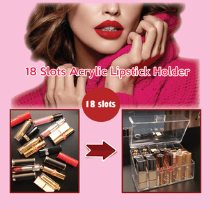 18 Slots Acrylic Lipstick Holder