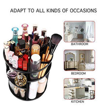 Load image into Gallery viewer, 50% OFF TODAY-360 Rotating Makeup Organizer DIY Adjustable Carousel
