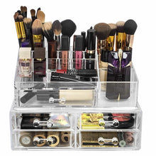 Load image into Gallery viewer, Purchase sorbus acrylic cosmetics makeup and jewelry storage case display sets interlocking drawers to create your own specially designed makeup counter stackable and interchangeable