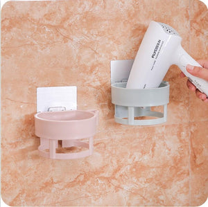Hair Dryer Storage Shelves Strong Sticker Hair Dryer Organizer
