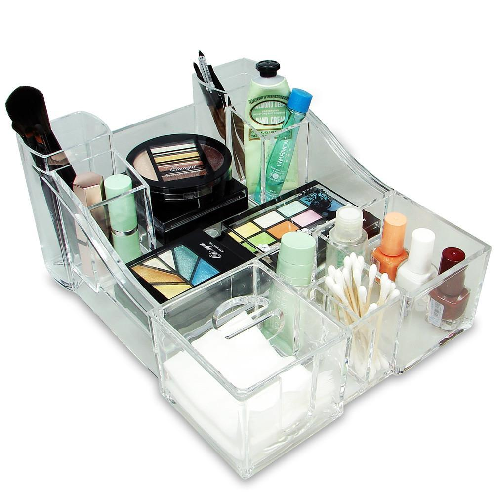 #COM0318 Luxury Acrylic Makeup Organizer