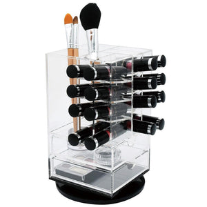 #COM1706 Acrylic Rotating Makeup Cosmetic Lipstick Lip Gloss Rack