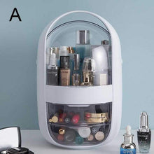 Load image into Gallery viewer, Dustproof Makeup Organizer Modern Jewelry and Cosmetic Storage Display Boxes with Handle