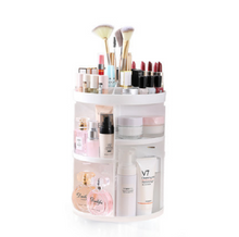 Load image into Gallery viewer, 360 ROTATING MAKE UP ORGANIZER
