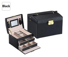 Load image into Gallery viewer, Exquisite Jewelry & Makeup Organizer Case