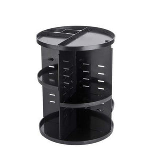 360 Degree Rotation Adjustable  Makeup Organizer Fits Different Type of Cosmetic