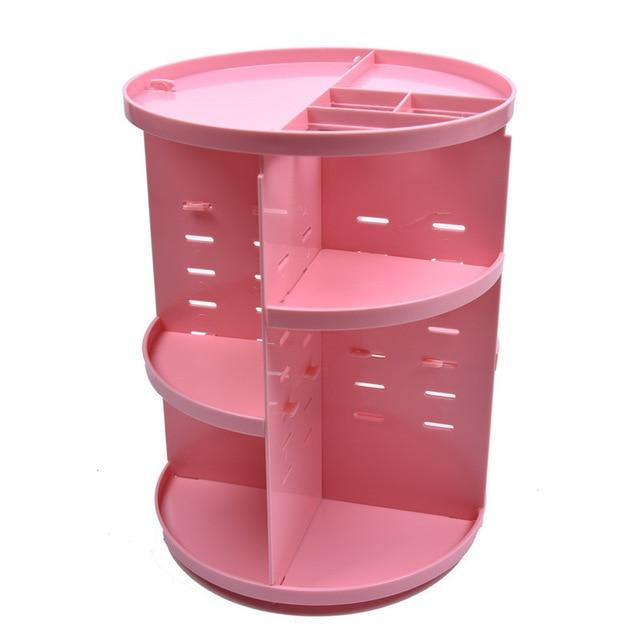 Rotating Makeup Organizer Box 360°
