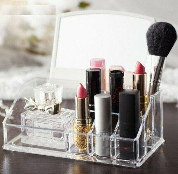 Mirror Makeup Rack
