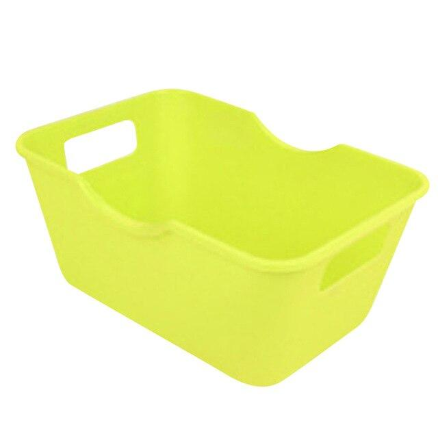 1PC Plastic Office Desktop Home Storage Boxes Makeup Organizer Storage Box Clothes Sundries Organization